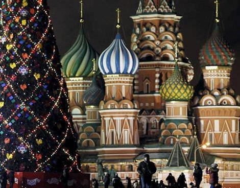 navidad paises plaza roja