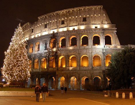 navidad paises roma