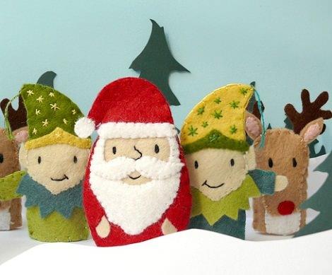 Ideas para hacer tus adornos de navidad caseros - Adornos originales para navidad ...