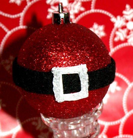 adornos de navidad caseros papa noel