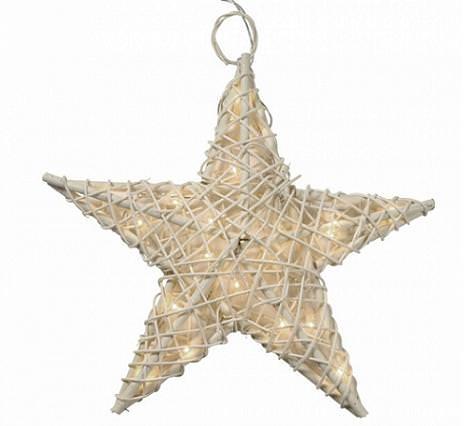 Estrellas de Navidad decorativas