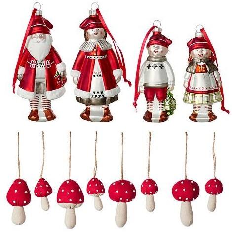 adornos de navidad ikea 2014 muñecos