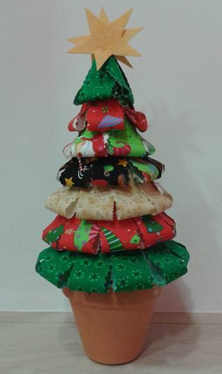 Árbol de Navidad patchwork
