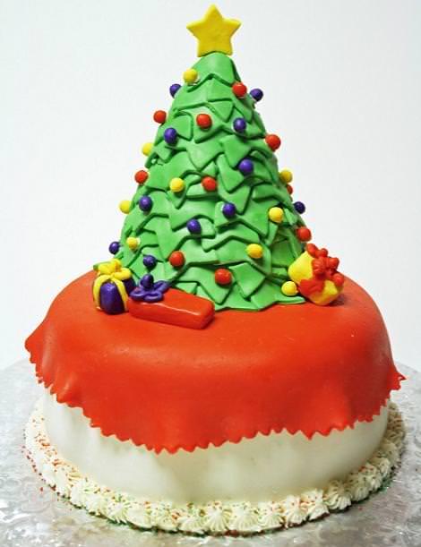 Tarta Árbol de Navidad