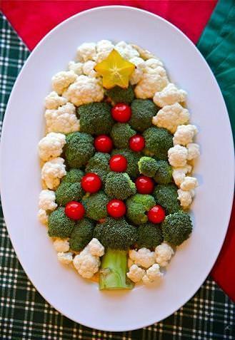 Comida de Navidad original