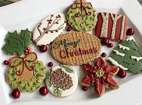 Galletas de Navidad decoradas