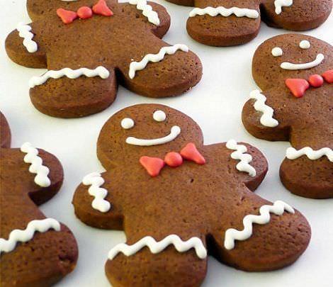 Imagenes De Galletas De Navidad Decoradas.6 Galletas De Navidad