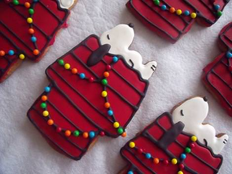 Galletas de Snoopy