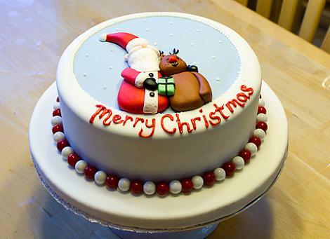 Tarta Feliz Navidad
