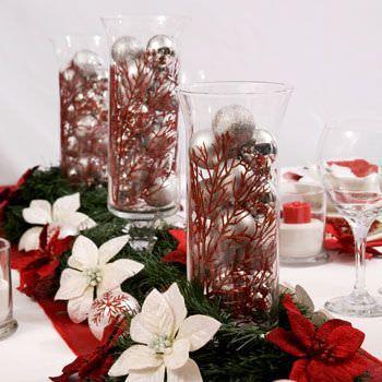 Centros de mesa de navidad originales for Centro mesa navidad