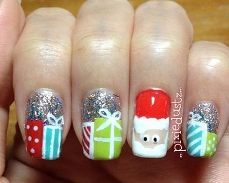decoracion unas navidad