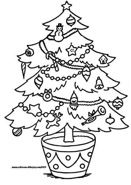 awesome dibujo de rbol de navidad with dibujo de rbol de navidad - Dibujos Arboles De Navidad