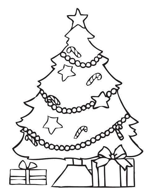 dibujos de rbol de navidad - Dibujos Arboles De Navidad