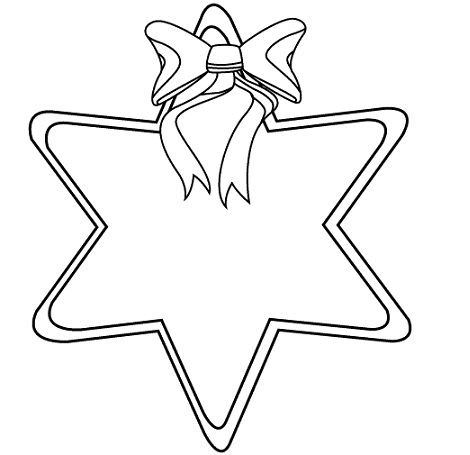dibujos estrella de navidad