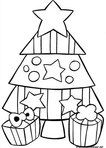 Dibujos de Navidad 2013 para colorear