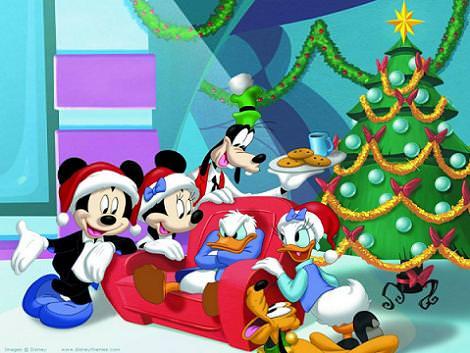 Mickey en Navidad