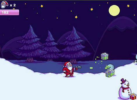Papá Noel aliens