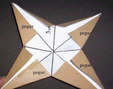 como hacer una estrella de navidad