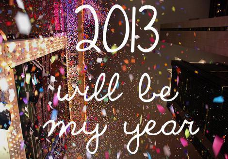 Felicitaciones año nuevo 2013