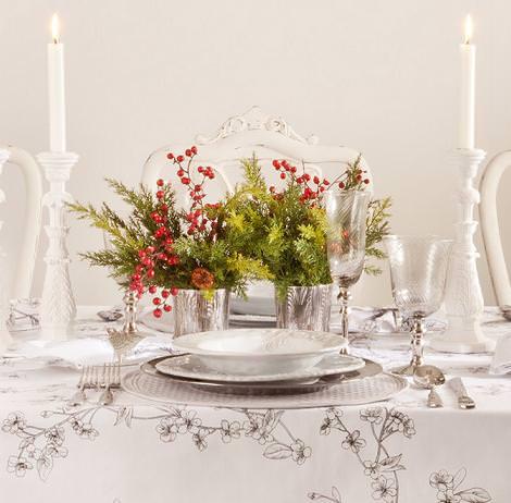 Decoraci n y centros de mesa para navidad - Adornos para la mesa de navidad ...
