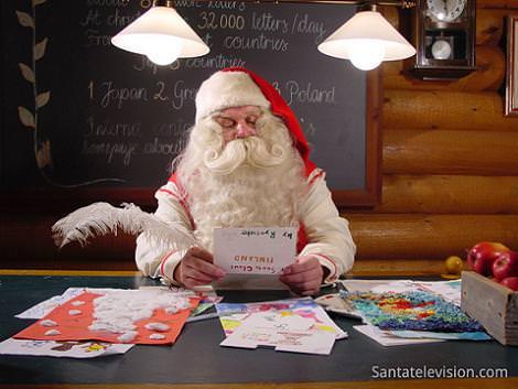 Santa Claus en Rovaniemi