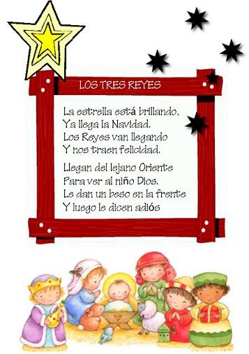 poemas de navidad cortos para niños
