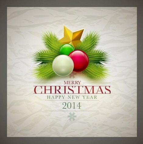 Postales de Navidad 2014 para imprimir adornos
