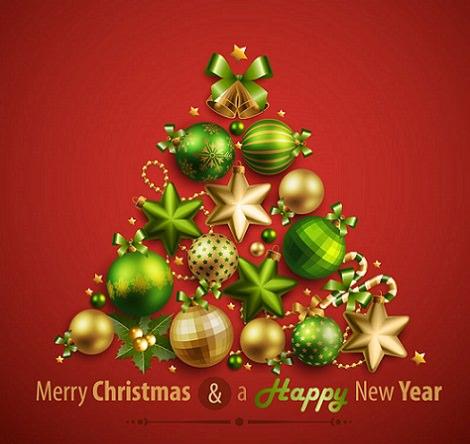 postales navidad 2013 arbol
