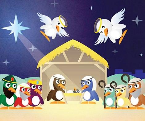 postales de navidad para imprimir
