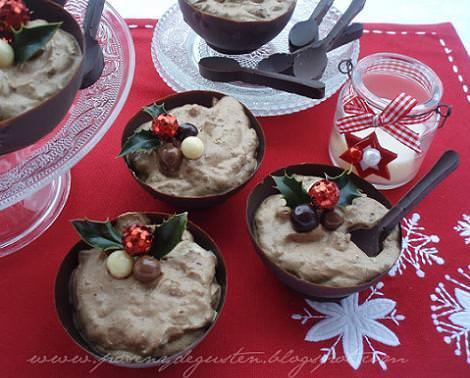 Dulces y postres para cenas de Navidad