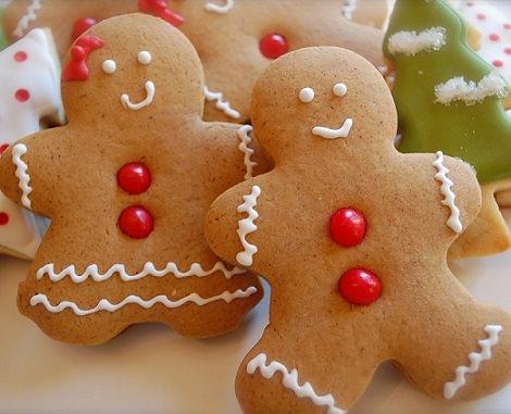 Los 5 postres más típicos de Navidad; galletas de jengibre