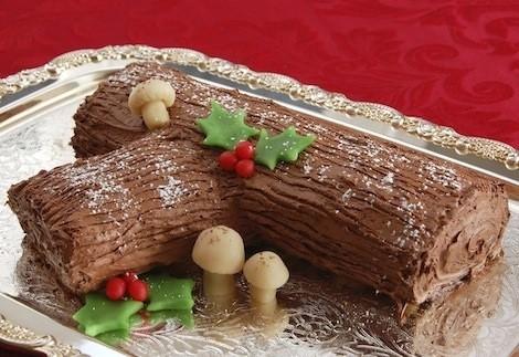 Los 5 postres más típicos de Navidad; tronco de navidad