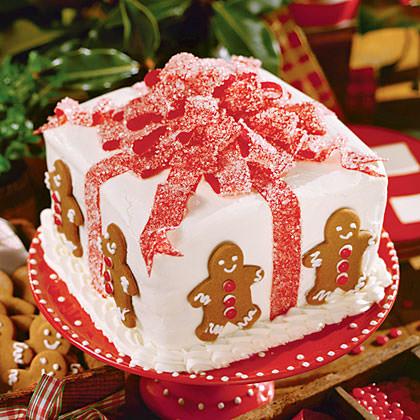 Tartas de Navidad originales hechas con chuches