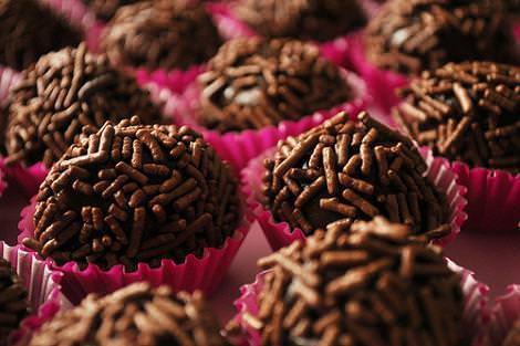 Trufas de chocolate fáciles para Navidad