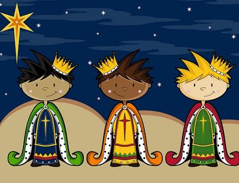 Imágenes y dibujos de los tres Reyes Magos