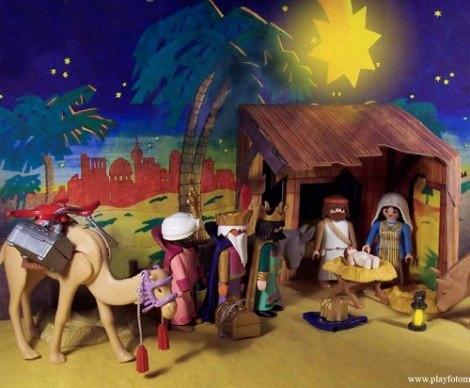 Imágenes y dibujos de los tres Reyes Magos playmobil