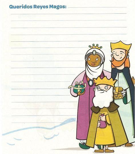 Imprimir carta Reyes Magos