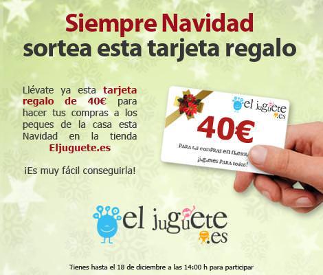 SiempreNavidad sortea una tarjeta regalo de 40 euros