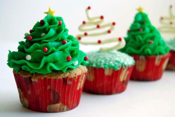 como-hacer-cupcakes-para-navidad