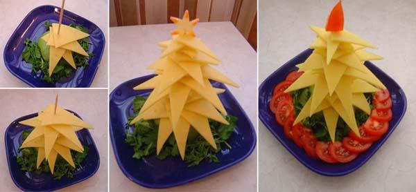 arbol-de-navidad-hecho-con-queso