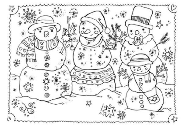Tarjetas de navidad infantiles para colorear for Dibujos postales navidad ninos